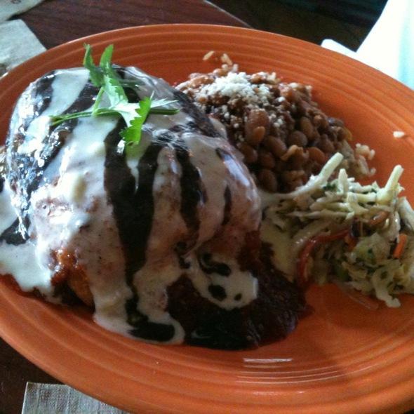 wet burrito - Cantina 1511 - Park Road Shopping Center, Charlotte, NC