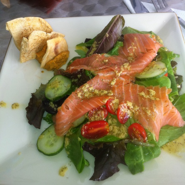 Smoked Salmon Salad - Bryan in the Kitchen, Miami, FL