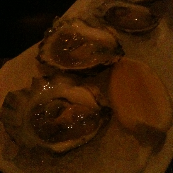Island Creek oysters - City Table, Boston, MA