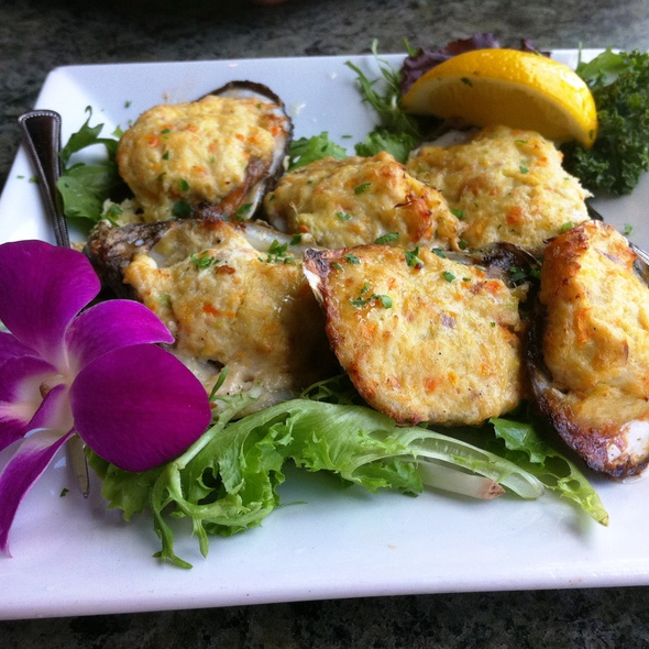 Baked Oysters - The Wine Exchange Bistro, Tampa, FL