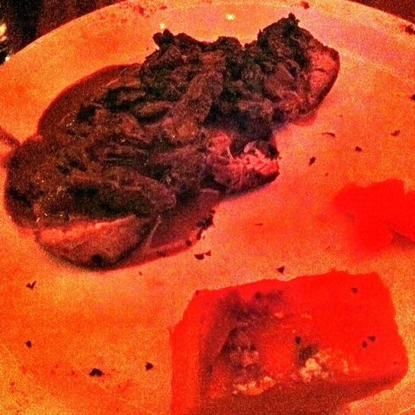 Filet Mignon De Porc Poelee Aux Morilles - La Sirene, New York, NY