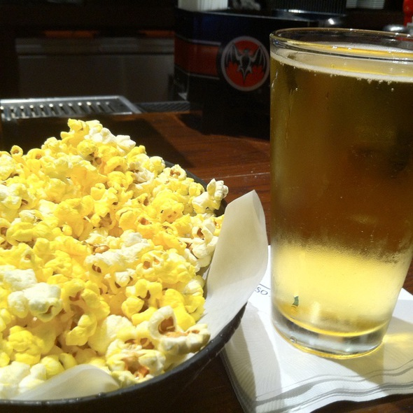 Coors Light & Popcorn - Wicked Good Bar & Grill, Lincoln, RI