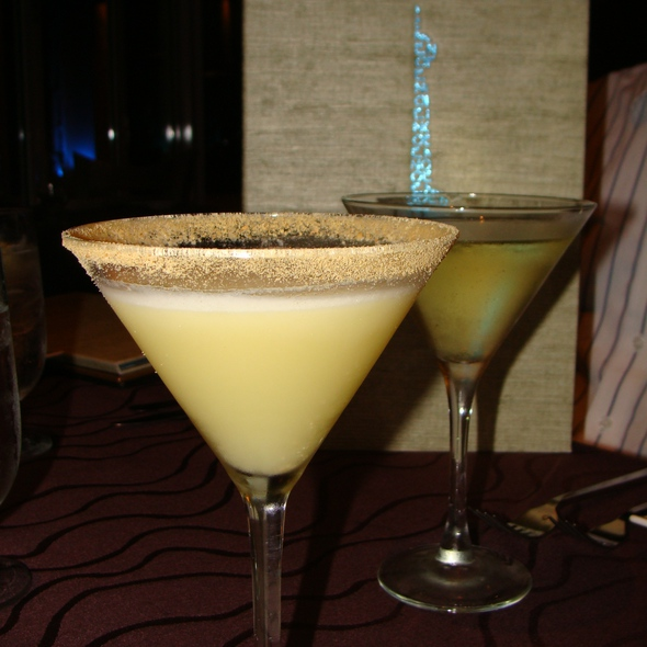 Key Lime Pie Martini - Noe at the Omni Los Angeles, Los Angeles, CA
