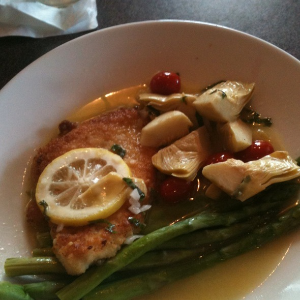 Parmesan Chicken - The Grill Room at The Kirby House, Grand Haven, MI