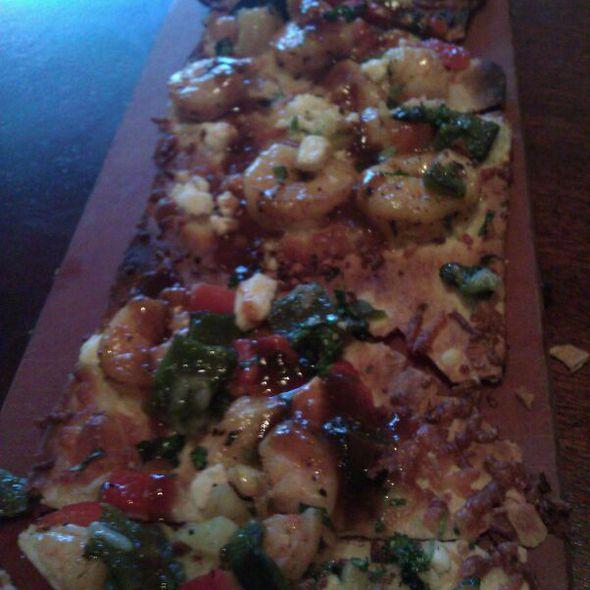 Spicy Chipotle Shrimp Flatbread - Seasons 52 - Buckhead, Atlanta, GA