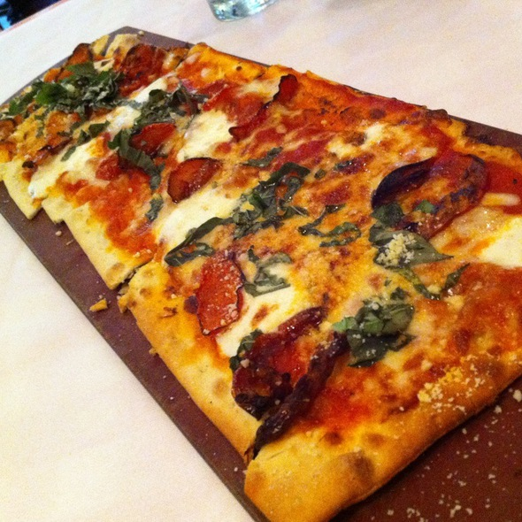 Pepperoni And Arugula Flatbread  - Maggiano's - King of Prussia, King of Prussia, PA