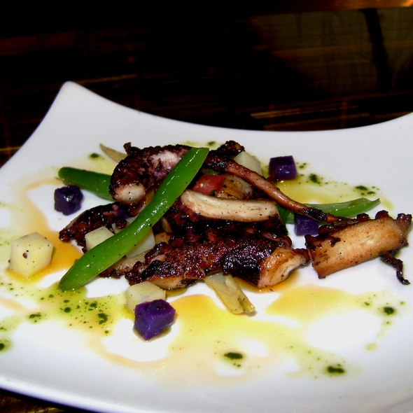 Grilled Octopus - da Campo Osteria, Fort Lauderdale, FL