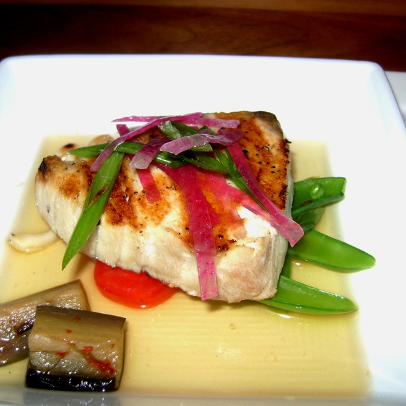 Grilled Local Wahoo - Bourbon Steak by Michael Mina - Miami, Aventura, FL