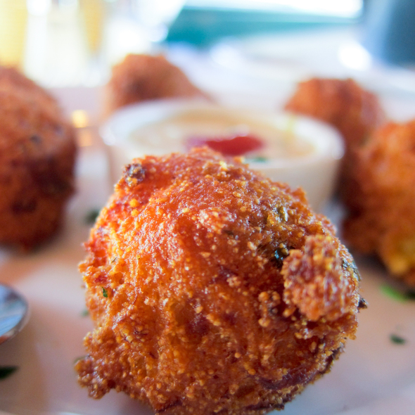 Crawfish Hush Puppies - Creola, San Carlos, CA