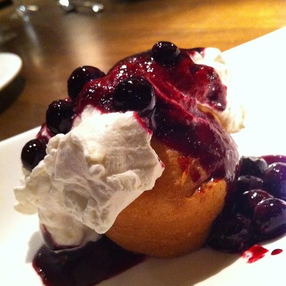 Blueberry Shortcake - Panzano, Denver, CO