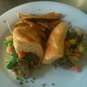 Steak Sandwich - Michaels Restaurant, Key West, FL
