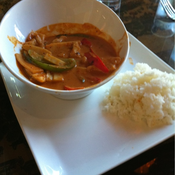 Red Curry - J Wongs Thai & Chinese Bistro, Salt Lake City, UT