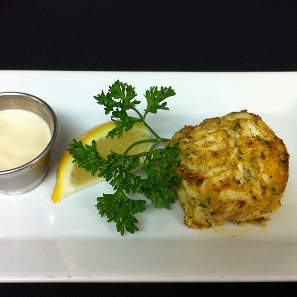 Chesapeake Bay Style Crab Cake - Oceanaire Seafood Room - Houston, Houston, TX