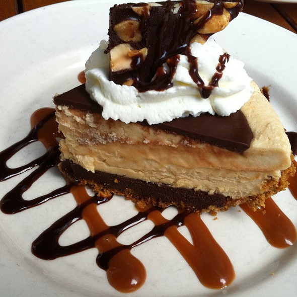 Peanut Butter Chocolate Pie - Clyde's of Reston, Reston, VA
