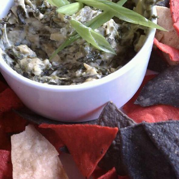 Spinach Artichoke Dip - Truffles Cafe - Belfair, Bluffton, SC