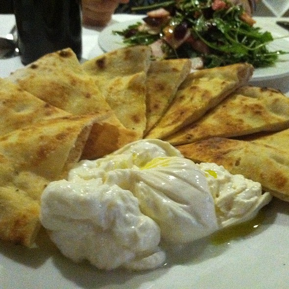 Burrata with grilled bread - Manducatis Rustica, Long Island City, NY