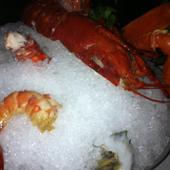 Chilled Seafood Platter - Oceanaire Seafood Room - Atlanta, Atlanta, GA