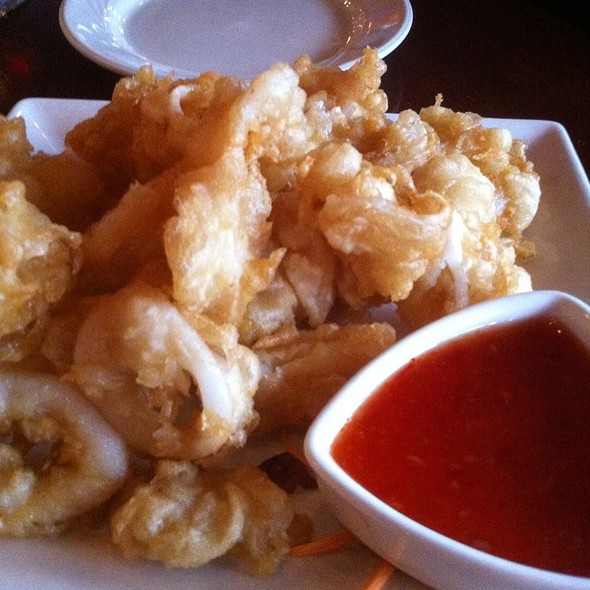 Fried Calamari With Thai Chili Sauce - White Orchids Thai Cuisine, Center Valley, PA