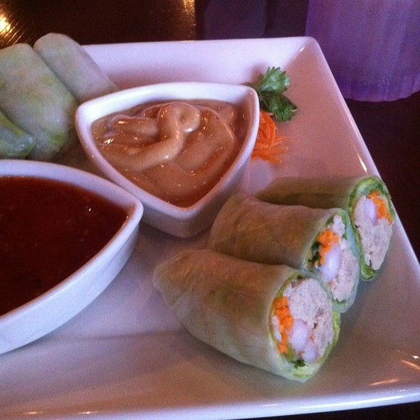Summer Roll Combo - White Orchids Thai Cuisine, Center Valley, PA