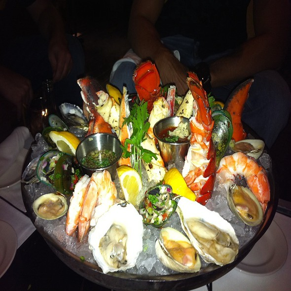 Shellfish Platter - N9NE (NINE 9) Steakhouse Las Vegas, Las Vegas, NV