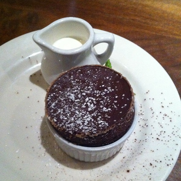 Chocolate Souffle - Oswald, Santa Cruz, CA