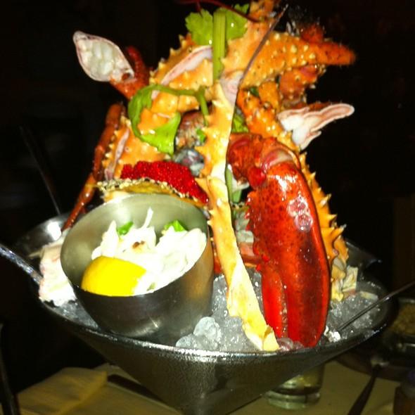 Seafood Martini - Barton G. The Restaurant - Miami Beach, Miami Beach, FL