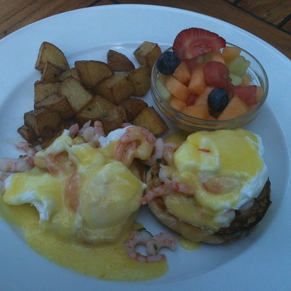 Hand Peeled Shrimp Benny - Hart House Restaurant, Burnaby, BC