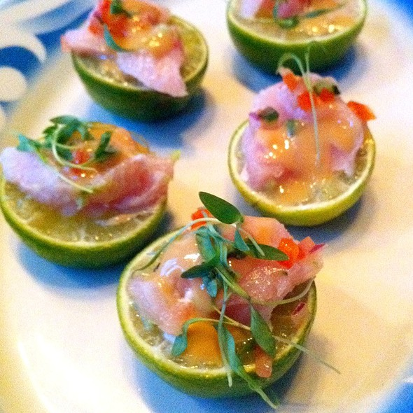 Hamachi Ceviche - COMMERCE, New York, NY