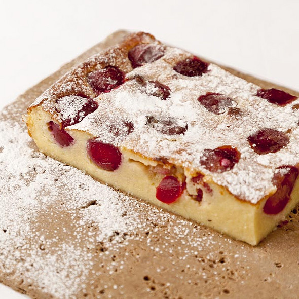 Sour Cherry Clafoutis - Club Gascon, London
