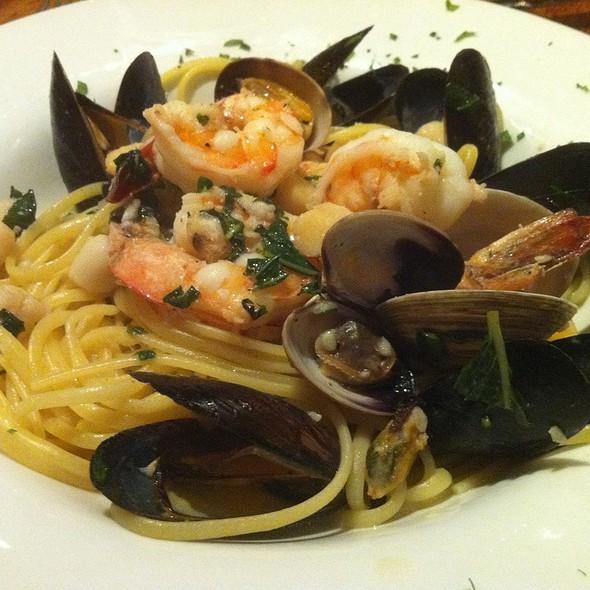 Mixed Seafood Linguini - Buon Appetito, San Diego, CA