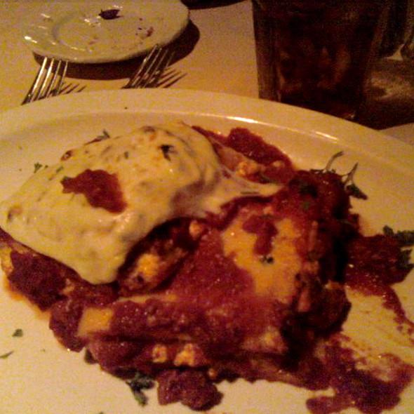 Italian Lasagna - Tony Spavones, Bloomingdale, IL