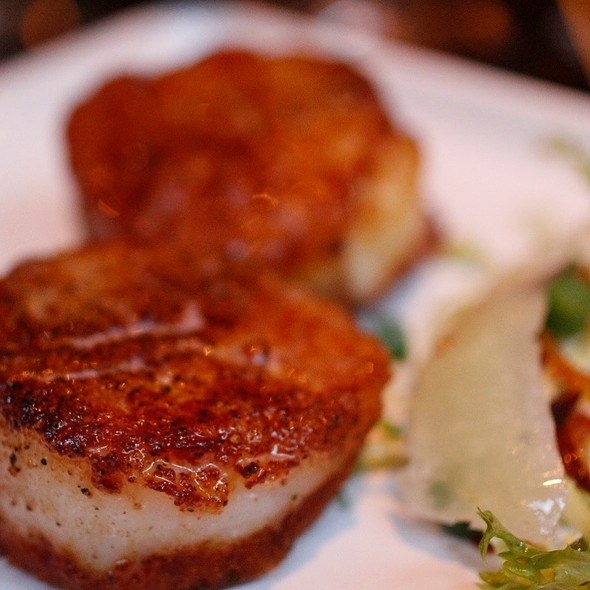 Seared Scallops - Andaluca, Seattle, WA