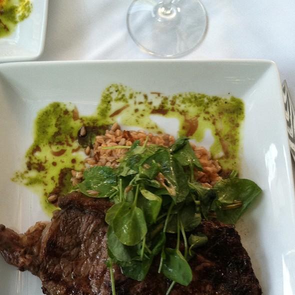 Ribeye Steak - Fresco Italian Cafe, Salt Lake City, UT