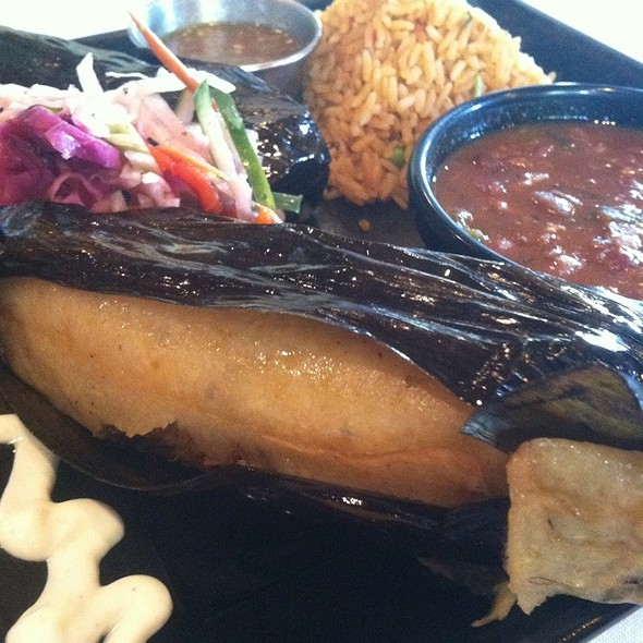 Pork Tamales - RJ Mexican Cuisine, Dallas, TX