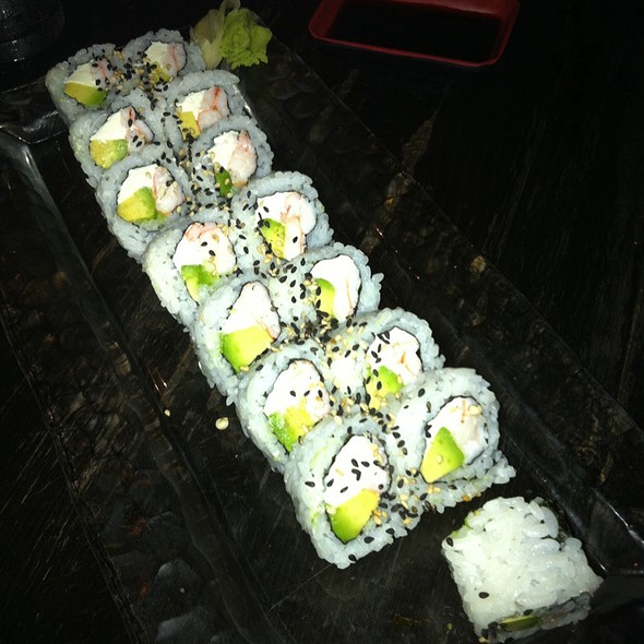 """Paula Roll"" (Modified California Roll) - SAII Bistro, Oklahoma City"