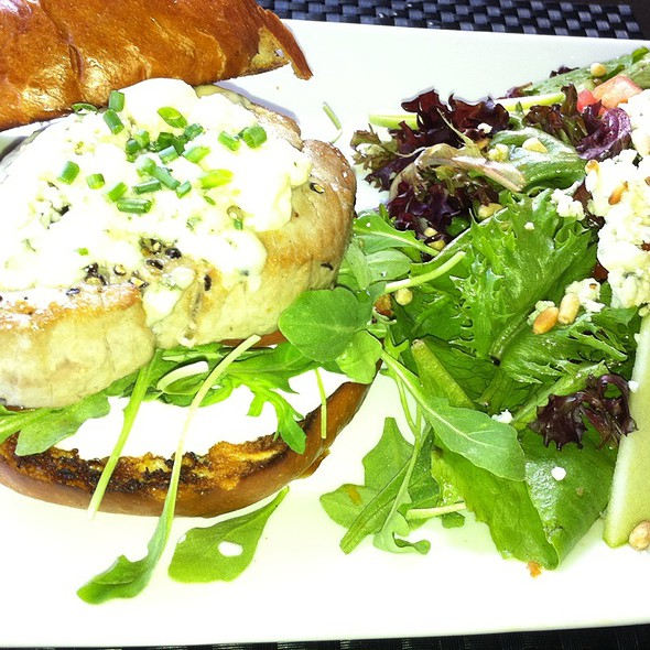 Ahi Sandwich - OPAH Restaurant & Bar @ Town Center Aliso Viejo, Aliso Viejo, CA