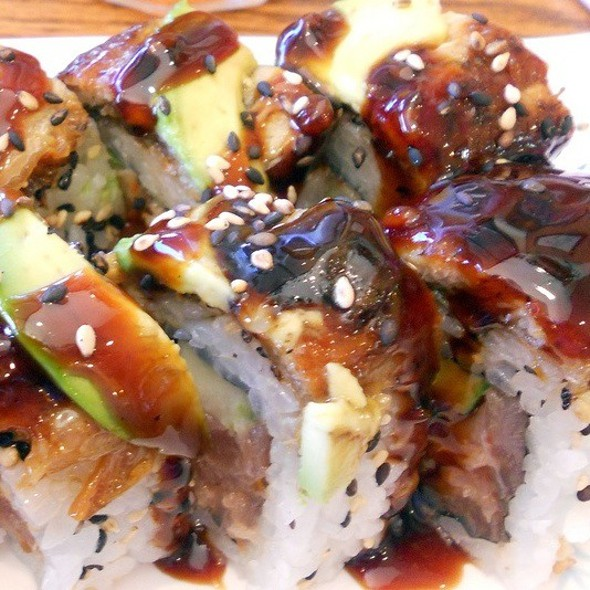 Fire Breathing Dragon Roll - Kona Jack's Fish Market & Sushi Bar, Indianapolis, IN
