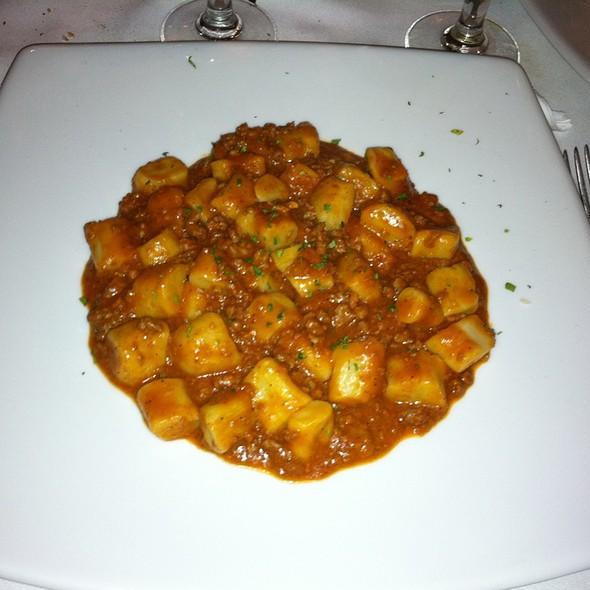 Gnocchi Bolognese - Chelsea Ristorante, New York, NY