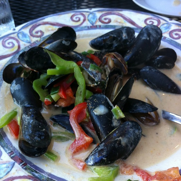 Coconut Curry Clams - Fins Bistro, Issaquah, WA