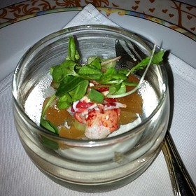 Lobster Jelly - La Mer at Halekulani, Honolulu, HI