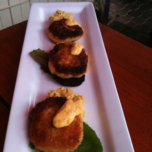 Crab Cakes - Uli's Restaurant, White Rock, BC