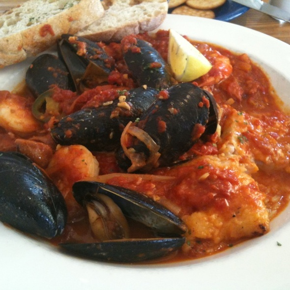 Seafood Paella - Robert's Maine Grill, Kittery, ME