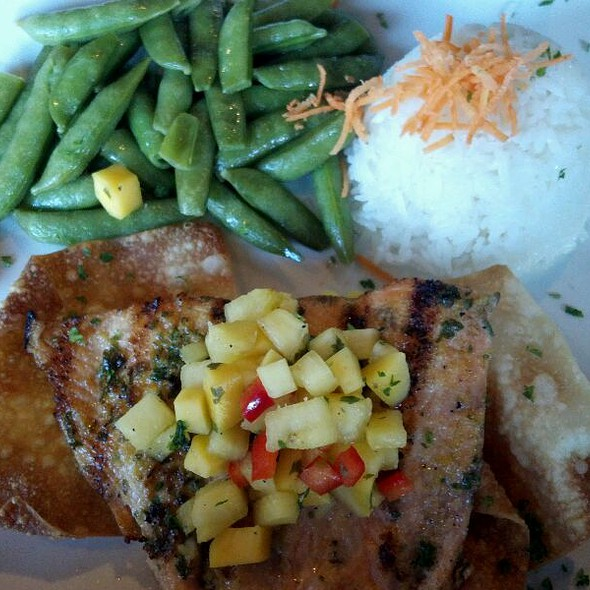 Teriyaki Salmon - Kitchen Bar, Abington, PA