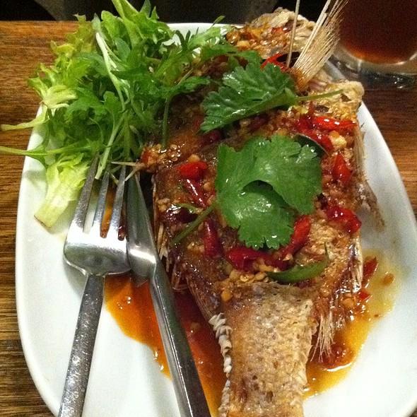 Yok Yor Thai Food Factory Menu