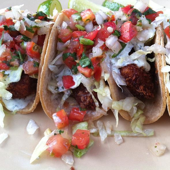 fish tacos - Marina Kitchen - San Diego Marriott Marquis & Marina, San Diego, CA