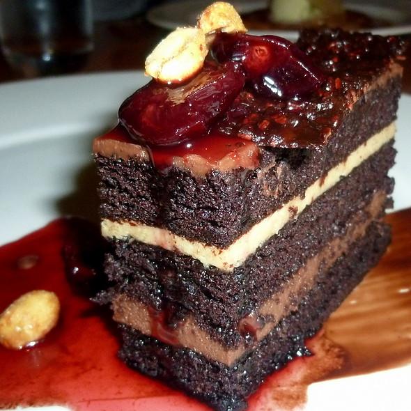 Peanut Butter Chocolate Cake - David Burke Kitchen - The Garden, New York, NY