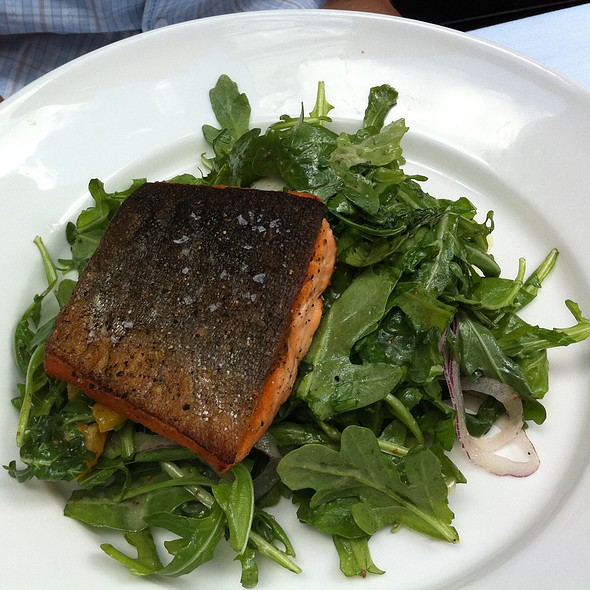 Salad with Arctic Char - Russell House Tavern, Cambridge, MA