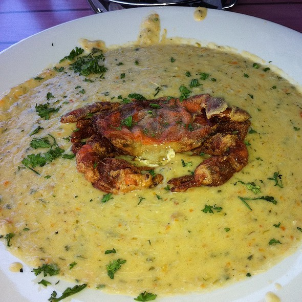 Soft Shell Bisque - RockBass Grill, Wormleysburg, PA