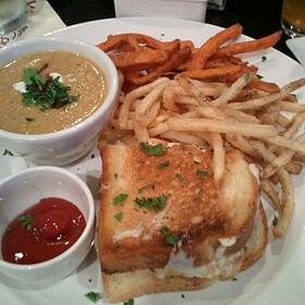 Shrimp Salad Sandwich - Wine Country Bistro, Shreveport, LA