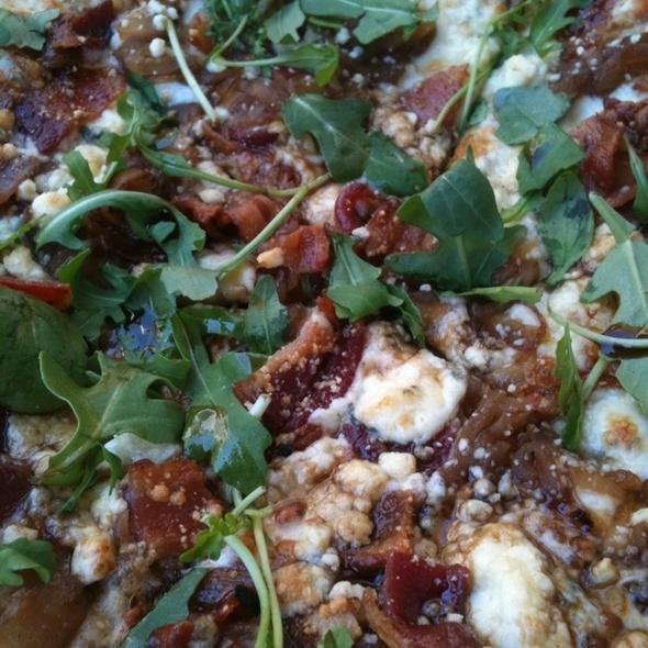 California Bacon Blue Pizza - Not Your Average Joe's Methuen, Methuen, MA